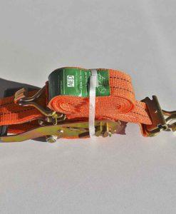 AEP 1500-826- ремень крепления груза 5м,1,5т, под яч. профиль, оранжевый