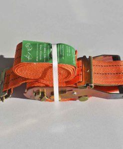 AEP 1500-826.007-ремень крепления груза 5м, 1,5т, с круками универсальный оранжевый